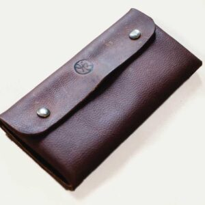 Brown Kodiak Leather Purse