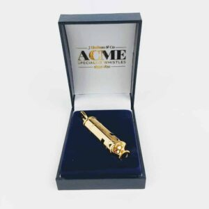 Gold Plated Metropolitan Police Whistle 15