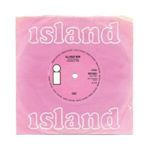 pink record sleeve free all right now