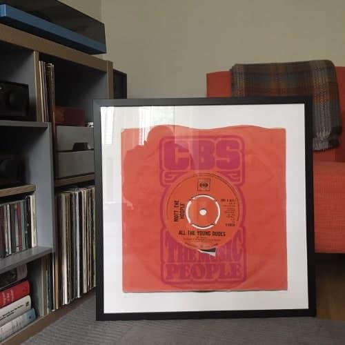 british made music art print