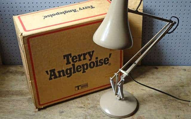 Anglepoise Old box 640x400 - Anglepoise - Shining a Light on British Design.