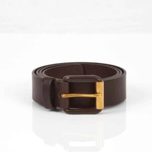 Modernist Belt – Exposed Chocolate Brown