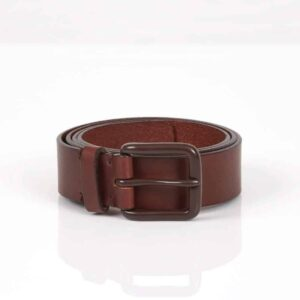 Modernist Belt – Russet Brown/Brown