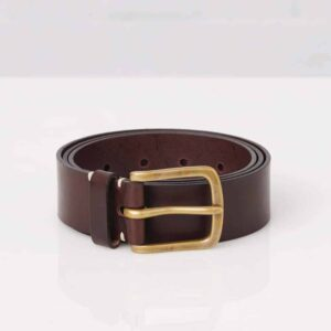 Original Belt – Walnut Leather/Brass