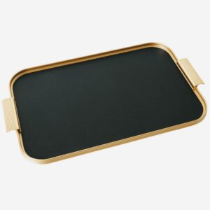 Black And Gold British Made Kaymet Tray