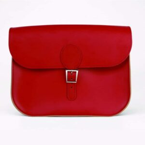 Vintage Red Full Pint Satchel