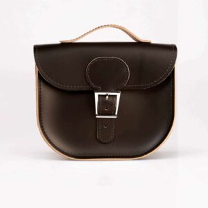 Black Half Pint Satchel