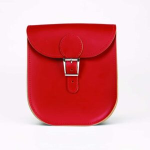 Vintage Red Milkman Satchel