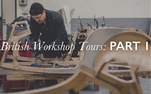 British workshop tours part 1
