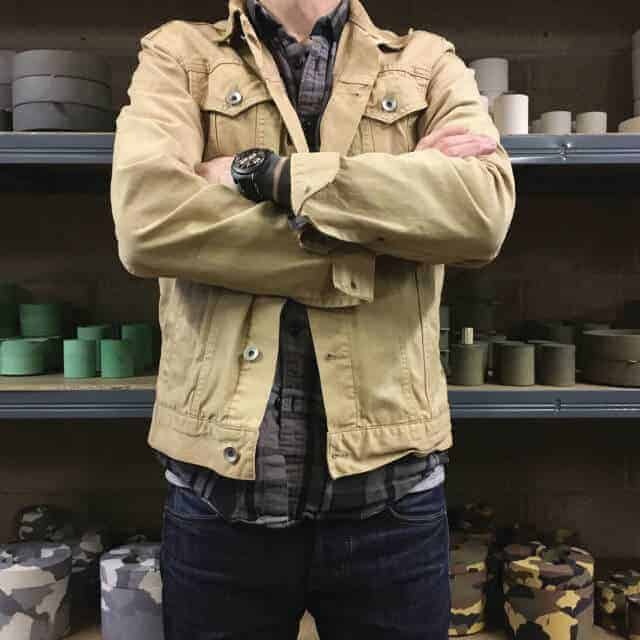 CW ALEX interview - Concrete & wax interview - The making of handcrafted candle holders and candles.