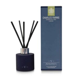 Charles Farris british expedition reed diffuser, luxury reed diffuser, scented room diffuser british made