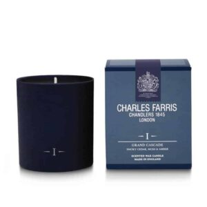 Charles Farris grand cascade, luxury scented candle