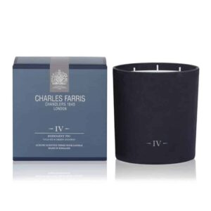 Charles Farris redolent fig 3 wick, fig scented candle, luxury scented candle, british made candle