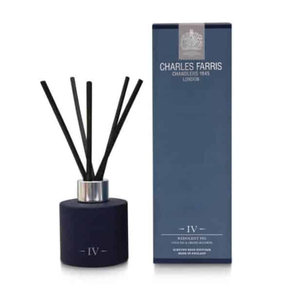 Charles Farris redolent fig reed diffuser, room diffuser scented diffuser