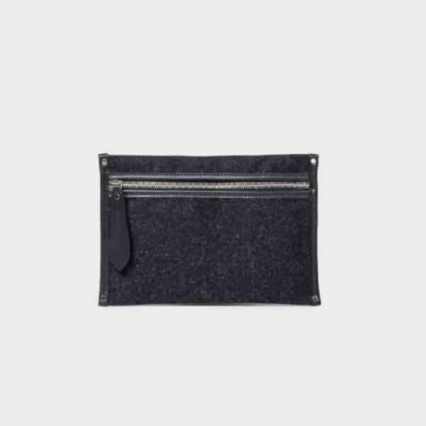 small woolen pouch cherchbi luxury wool bags