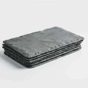 Set of 6 Slate Place Mats