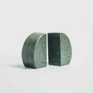 Round Slate Bookends