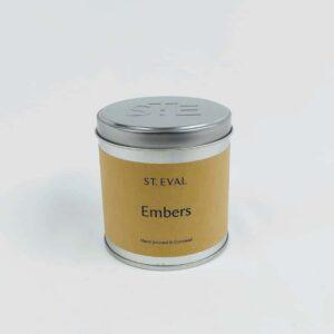 Embers Tin Candle