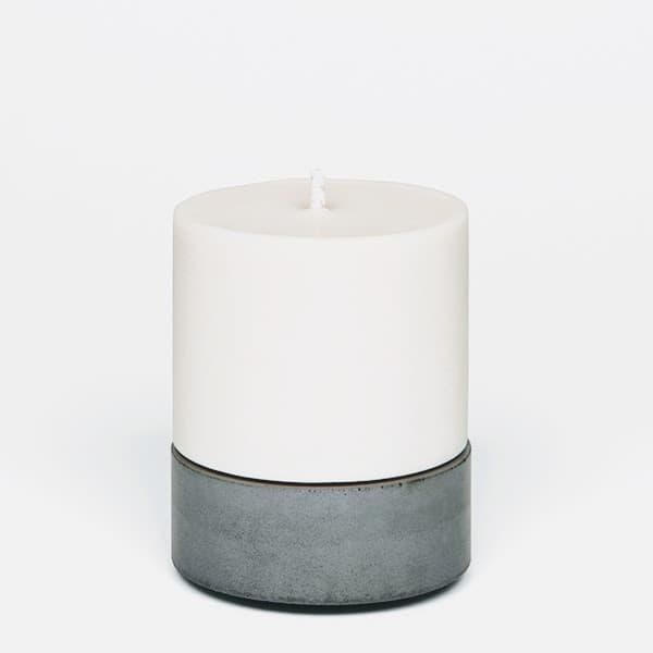 Grey Large Candle Holder