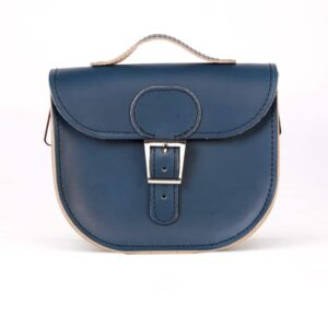 Insignia Blue Half Pint Small Satchel