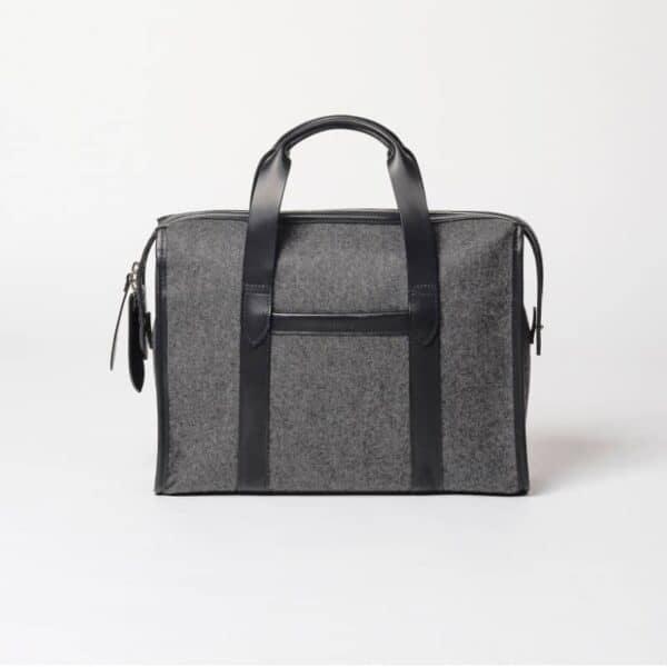 cherchbi handmade wool briefcase made in Uk
