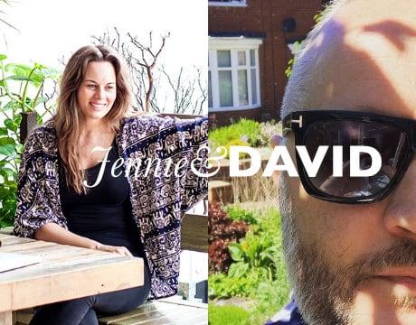 Jennie and DAVID front header blog - Home