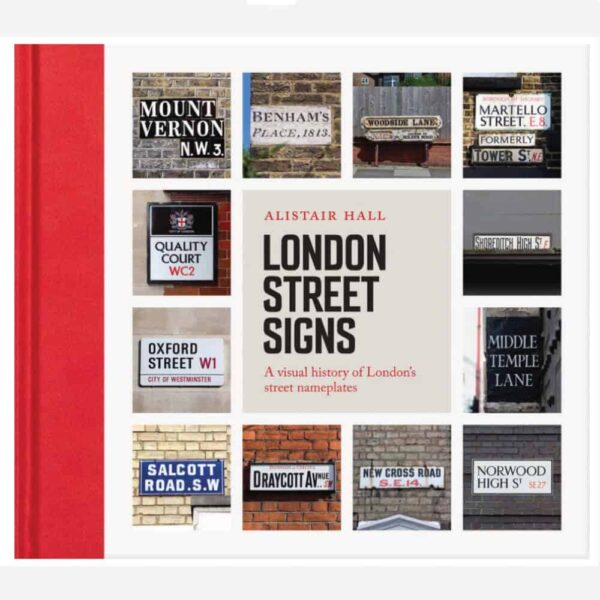 London Street sign cover small