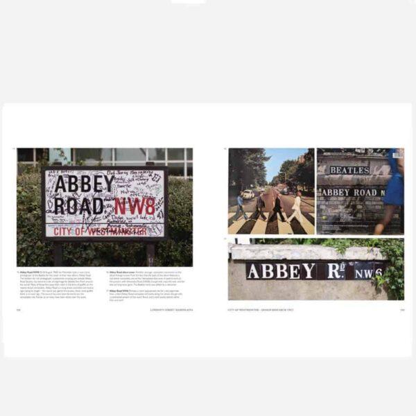 London Street signs inside 2 small