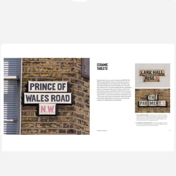 London street signs inside 1 small