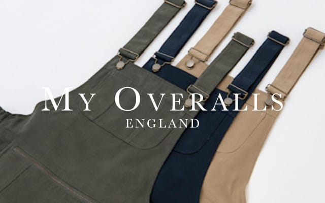 My Overalls brand lock up  - Home
