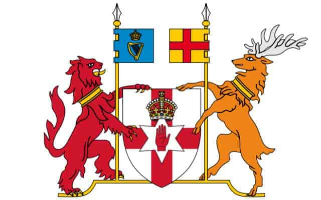 NI coat of arms - British National Symbols