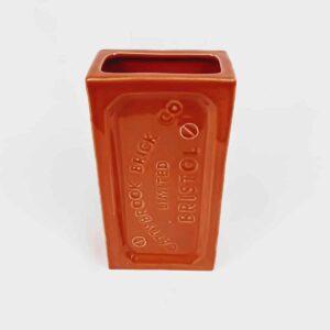 Orange Birmingham Brick Vase