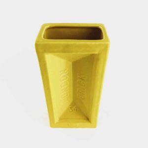 Yellow London Brick Vase