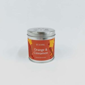 Scented Tin Candle Collection | Orange & Cinnamon
