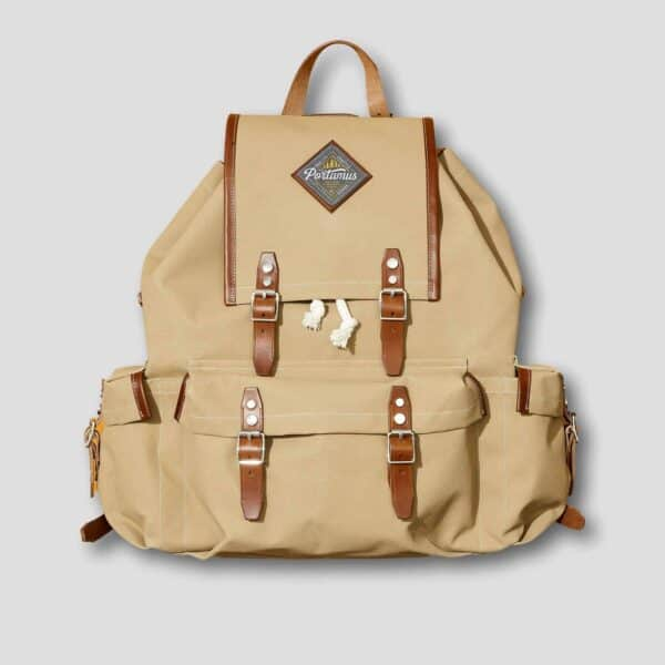 Portamus scout taupe backpack front