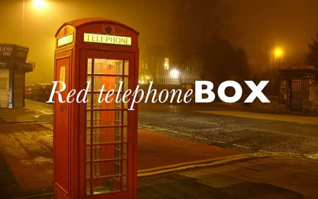 Red telephone box 640x400