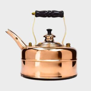 copper whistling kettle