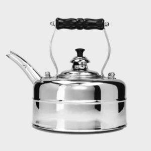 chrome gas whistling kettle