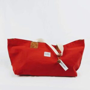 Factory Red Market Bag