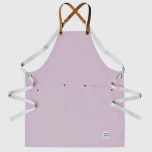 Baby Pink Canvas Apron