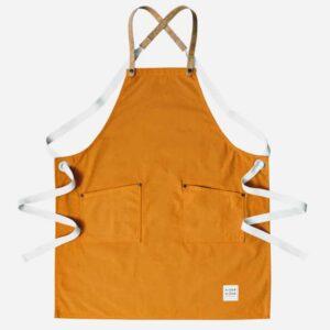Risdon burnt orange canvas cork apron 1 300x300 - New