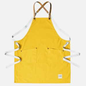 Sunflower Yellow Canvas Apron