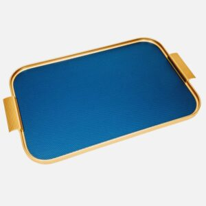 Royal Blue And Gold British Made Tray
