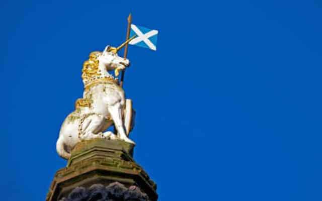 Scottish unicorn - British National Symbols