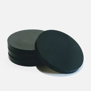 Black Concrete Coasters