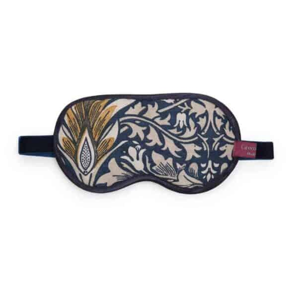 william morris snakehead fabric eye mask with lavender filling