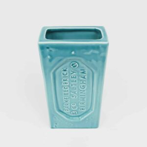 Turquoise Birmingham Brick Vase