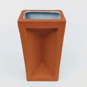 Terracotta British Made London Brick Vase From Stolen Form