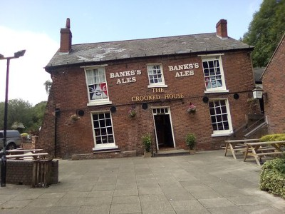The crooked house dudley