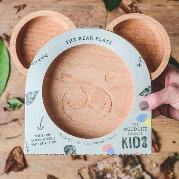 The Wooden Bear Plate For Children 4 900x